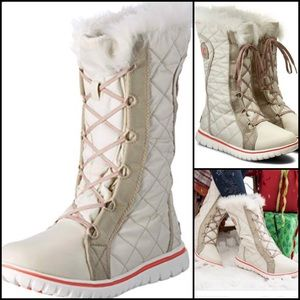 Sorel Cozy Cate Snow Boots Fawn Size 8.5 Women's